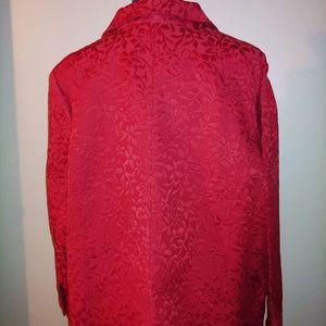 croft & barrow Tops - NWT - Red Shirt / Jacket